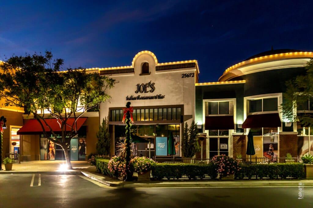 Joe's Italian Restaurant and Bars Menu Ladera, CA